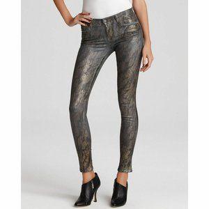 J Brand 901 Power Stretch Jeans Animal Print Sz 26